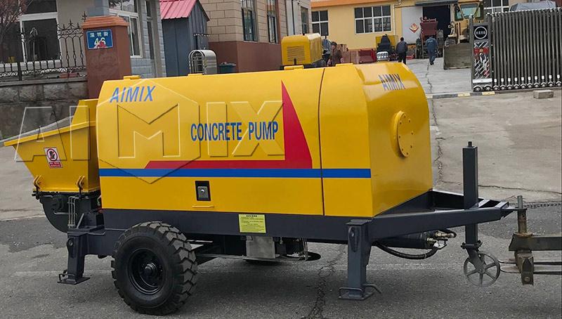Продажа стационарного бетононасоса цена в России