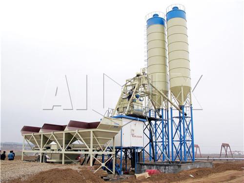 Купить стационарная бетоносмесительная установка цена