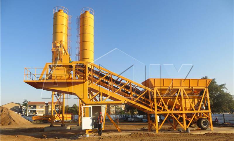 Продам мобильные бетонные установки цены бетонных заводов
