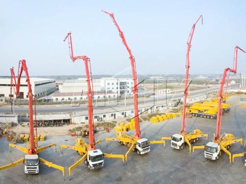 Продам мобильный бетононасос автобетононасос в Китае