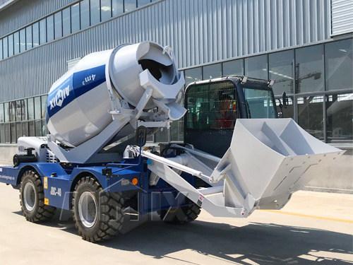 Купить мобильный бетоносмеситель с самозагрузкой цена