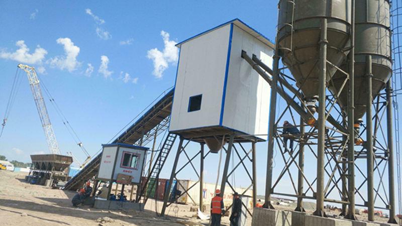 Купить бетонный завод цена в Китае