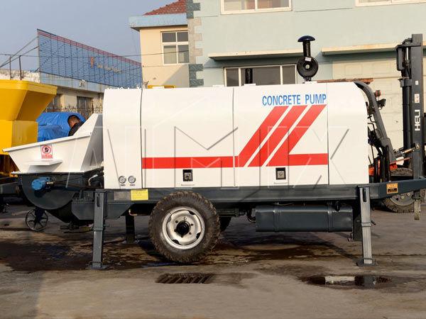 Дизельный бетононасос 60 м3/ч