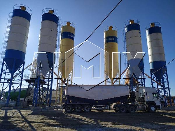 Узбекистан: бетонный узел 50 м3/ч