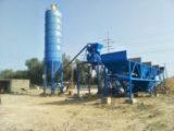 Мини бетонный завод 25 м3/ч в Пакистане