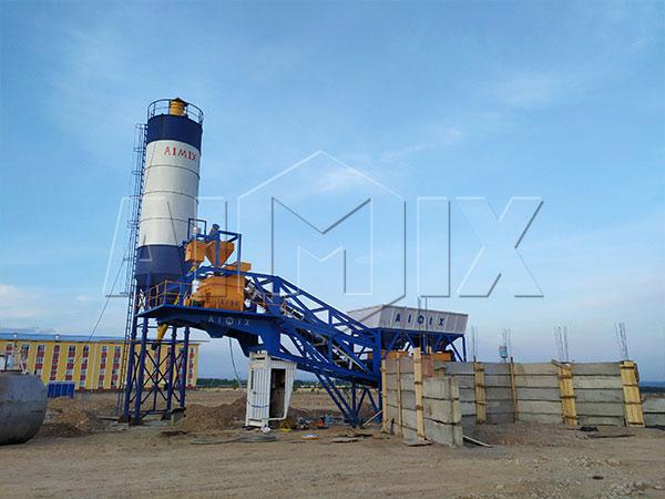 Узбекистан: Мобильный бетонный узел